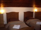 Twin bedroom, Ancienne Poste in Louron Valley