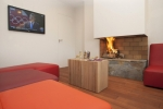 Hotel Le Grand Tetras - Reception Lounge. Font Romeu, Catalan Pyrenees