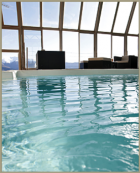 Hotel Le Grand Tetras - Swimming Pool. Font Romeu, Catalan Pyrenees