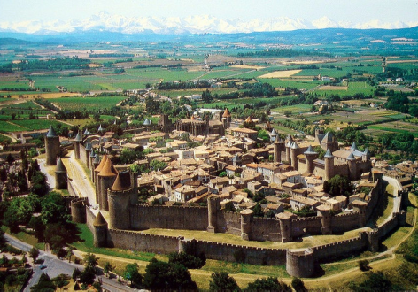 Carcassonne - City - Pyrenees Collection Summer Holidays