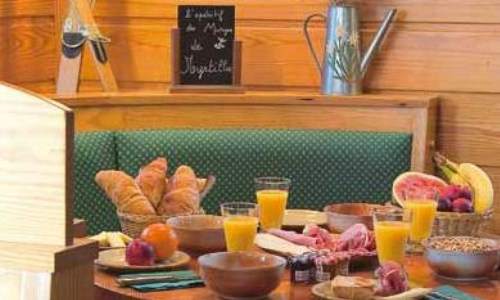 Hotel Le Bois Joli Cauterets  Pyrenees Ski Accommodation ~ Restaurant Le Bois Joli