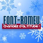 Font-Romeu winter logo