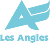 Les Angles winter logo