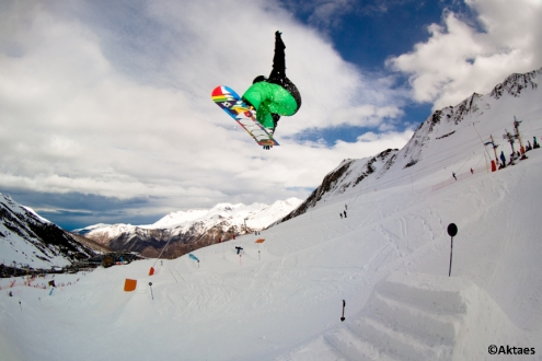 Luz Saint Sauveur snowpark