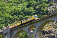 Yellow Train - Font Romeu - Catalan Pyrenees